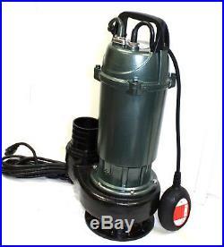 1.5HP Submersible Water Transfer Pump 4 WaterFall Pond Fountain Pool Sewage