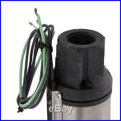 1 HP Submersible 2-Wire Motor 10 GPM Deep Well Potable Water Pump