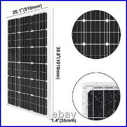 100W Solar Well Pump System, 100W Solar Panel + 12V Water Pump + 10AH Battery