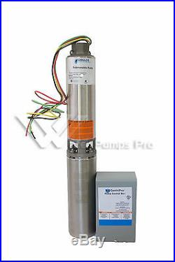 10GS10412C Goulds 10GPM 1HP 4 Submersible Water Well Pump & Motor 230V 3 wire