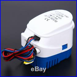 1100GPH Automatic Submersible Water Pump Boat Marine Bilge withFloat Switch 12V