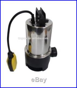 1100w Universal Dirty/Clean Water Pump Submersible Automatic Electric Steel Bod
