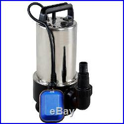 1100w Universal Dirty Water Pump Submersible Automatic Electric Pond Pumps New