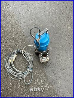 110v Industrial Water Pump 3 Flood Pond Submersible Pump Tsurumi Gwo
