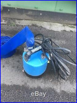 110v Industrial Water Pump With Hose Flood Pond Submersible Pump 2 Tsurumi Gwo