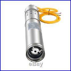 12/24V 20-80M Head Solar Deep Well Bore Hole Water Pump Submersible Pump 2/3m³/h