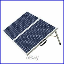 120W Folding Solar Panel &DC12V Solar Powered Water Pump for Watering/Irrigation