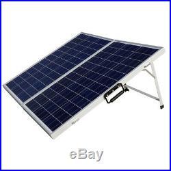 120W Poly Folding Solar Panel&DC12V Solar Power Submersible Portable Water Pump