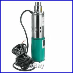 12V 25M Lift Max Flow 3M³/H Submersible Water Pump Solar Energy Deep Well Pump