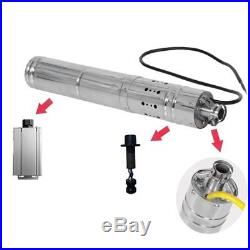 12V DC 2m3/H Solar Powered Water Pump Submersible Bore Hole Deep Well HL