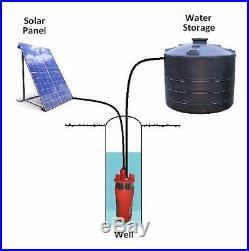 12V DC Submersible Deep Solar Well Water Pump-Alternative Energy-YaeTek