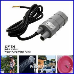 12V Electric High Flow Water Pump 600L/H Submersible Camper Caravan Motorhome UK