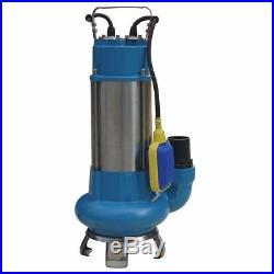 151625 Heavy Duty 1100W Submersible Sewage Dirty Waste Water Pump Float Switch