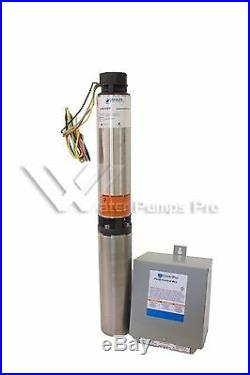 18SB10412C Goulds 18GPM 1HP 4 Submersible Water Well Pump & Motor 3 Wire 230V