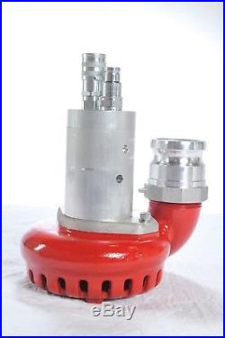 2-1/2 Discharge Hydraulically Powered Submersible Water Pump