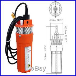 2''100W Solar Panel Submersible Water Deep Well Pump Controller Kit for Ponds