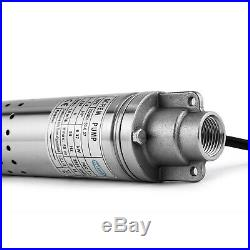 2 2QGD1-50-0.37 Borehole Deep Well Submersible Water Pump LONG LIVE + 14m CABLE