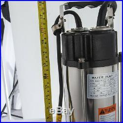 2.2kW Heavy Duty Garden Pond Submersible Sewage Dirty Waste Water Pump