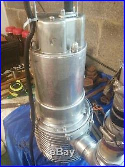 2.5 Submersible Water Pump 110 Gal Per Min