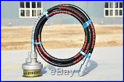 2 FH-2 WATER PUMP use with POKER DRIVE UNIT submersible pump x 6m flexible hose