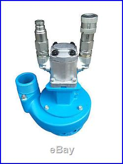 2 Hydraulic Submersible Water Pump Breaker Pack Tool Trash Power Pack Oil