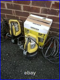 2 Karcher SP7 Inox Submersible Dirty Water Flood Pump. Stop working fix or for p
