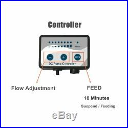 2000-12000 L/H Aquarium Adjustable Water Submersible Pump Fish Tank Pond DC U