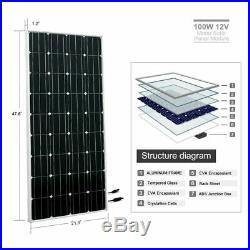 2100W Solar Panel+DC 24V Deep Well Solar Submersible Water Pump for Farm&Ranch