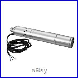 24/36V Brushless Solar Deep Well Submersible DC Pump Screw Water Pump Irrigation