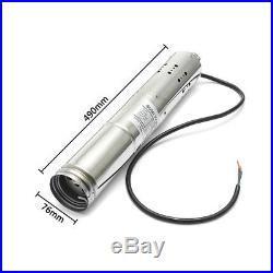 24/36V Solar Powered Water Pump Submersible Bore Hole Deep Well long life