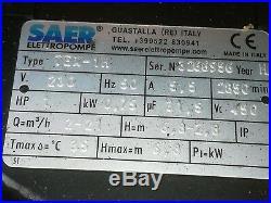 240 SAER water pump submersible