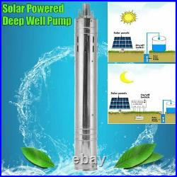 24V 2m³/h 244W 290W 340W Solar Photovaltaic Powered Submersible Water Pump Deep