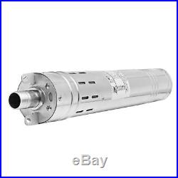 24V 2m3/h Brushless Stainless Steel Deep Well Submersible Screw Solar Water Pump