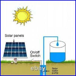 24V\48V 60M Deep Well 16L/min Submersible Solar Power Water Lift Pump