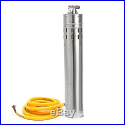 24V DC 216W 5000L/H Solar Powered Water Pump Submersible Bore Hole Deep Well 10M