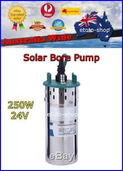 24V DC SUBMERSIBLE SOLAR BORE WATER PUMP Livestock and Crop Irrigation