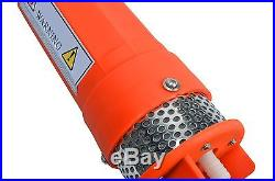 24V Submersible Deep DC Solar Well Water Pump, Solar, battery, alternate energy