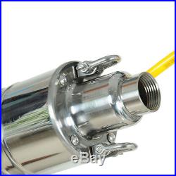 24v DC 40M 80M 120M Deep Well Stainless Solar Water Submersible Deep Well Pump
