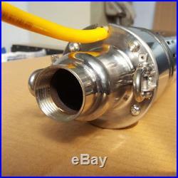24v DC Solar Water Pump 120M Deep Well Solar Submersible Pump Steel Machine///