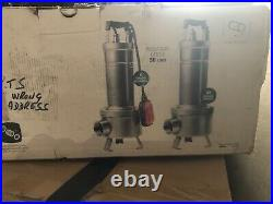 3/4Hp DAB Submersible sewage dirty water pump pond flood FEKA VS550 float switch