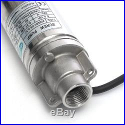 370W 50M 2'' Submersible Bore Water Jet Pump Deep Well 0.4'' Caliber 1m³/h