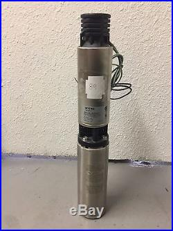 3NFL52-12-P4 Myers 4 Submersible Water Well Pump & Motor 12GPM 1/2HP 230V