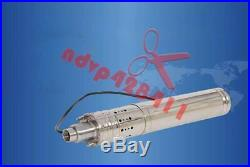 3m³/H 24V/36V DC Solar Water Pump 60M Deep Well Submersible Pump Bore Hole
