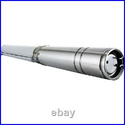 4 1.5HP Deep Well Water Pump Submersible Pump Stainless Steel 341FT 25.5GPM