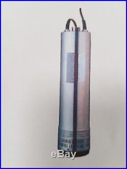 4 Borehole / Deep well pump 230V 1.1KW Submersible water pump