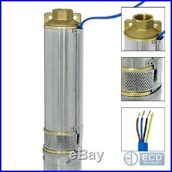 4 borehole deep well pump submersible water pump garden pump electric 2,2KW