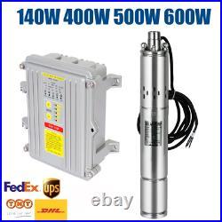 400W 500W 600W DC 24V 36V 60V 3 MPPT Controller Solar Water Pump Submersible