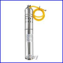 40m Solar Water DC Pump Solar Deep Well Submersible Pump 3m³/h 24V Energy UK