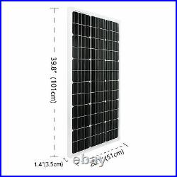 4100W Mono Solar Panel+24 Volt DC Brushless Solar Surface Water Pump+Controller