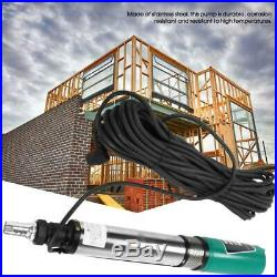 45m High Lift Submersible Water Pump Well Irrigation Stainless Steel 5m³/h